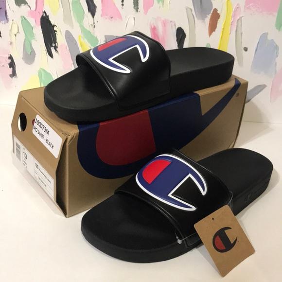 Champion Shoes   Mens Champion Slides